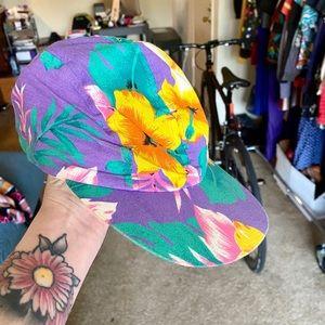 Vintage Wendy's floral hat
